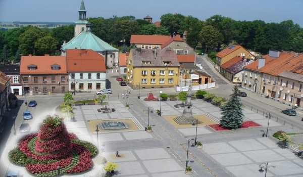 Rynek w Toszku